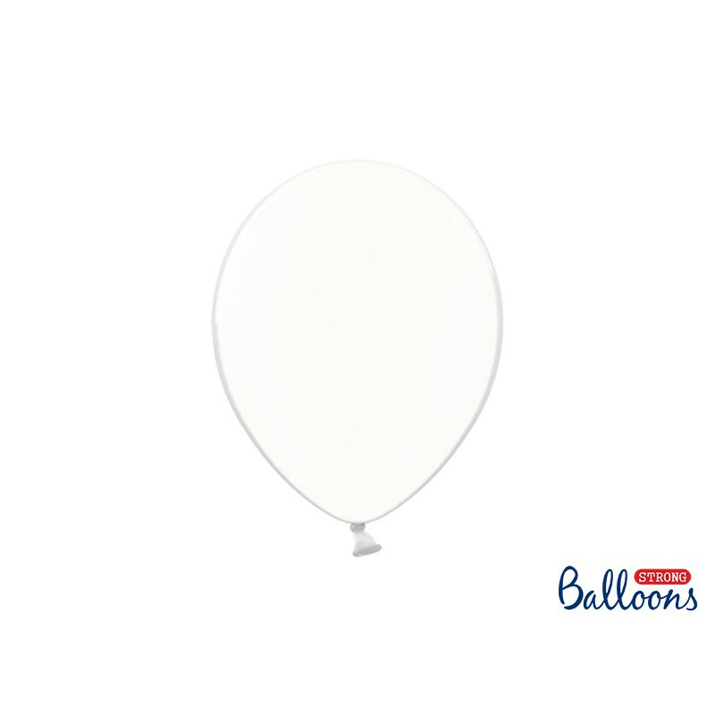 Balony 30 cm, Crystal Clear