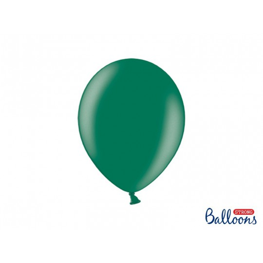 Balony 30 cm, Metallic Bottle Green