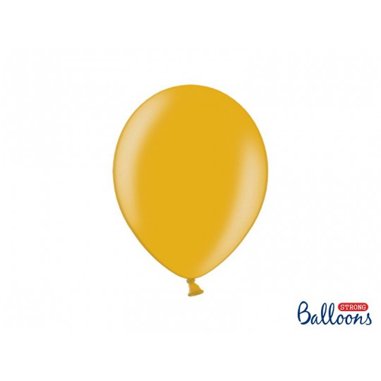 Balony 30 cm, Metallic Gold