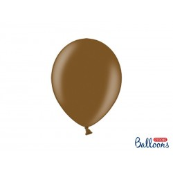 Balony 30 cm, Metallic Chocolate Brown