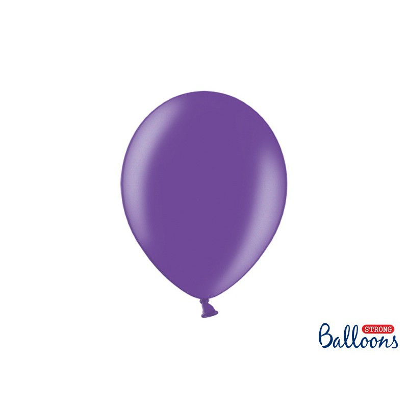 Balony 30 cm, Metallic Purple