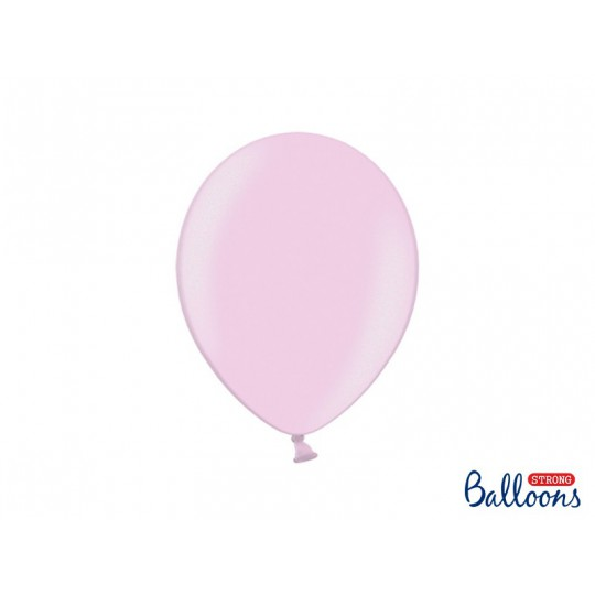 Balony 30 cm, Metallic Candy Pink