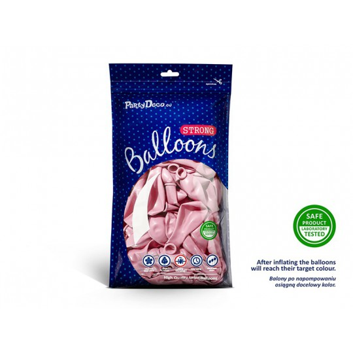 Balony 30 cm, Metallic Candy Pink