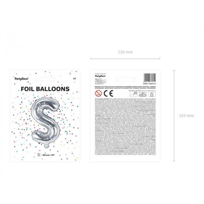 Balony 30 cm, Metallic Caribbean Blue