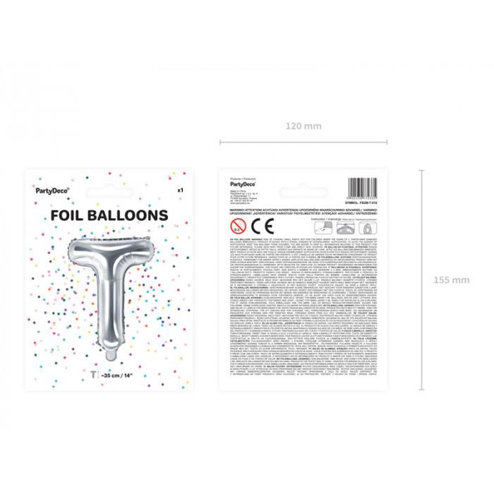 Balony 30 cm, Metallic Blue