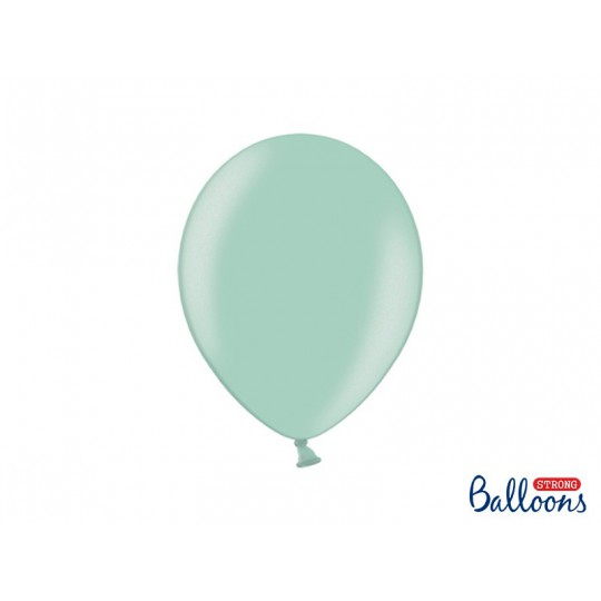 Balony 30 cm, Metallic Mint Green