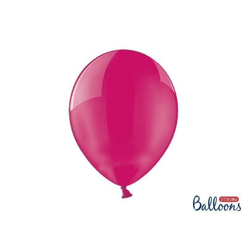 Balony 35 cm, Crystal Hot Pink