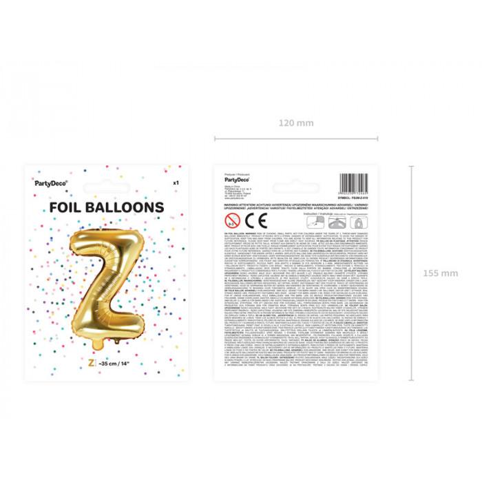 Balony 35 cm, Metallic Mandarin Orange