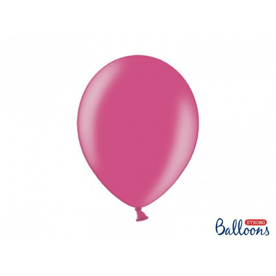 Balony 35 cm, Metallic Hot Pink