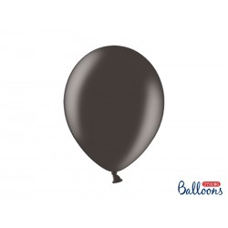 Balony 35 cm, Metallic Black