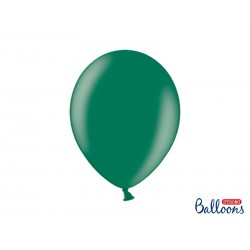 Balony 35 cm, Metallic Bottle Green