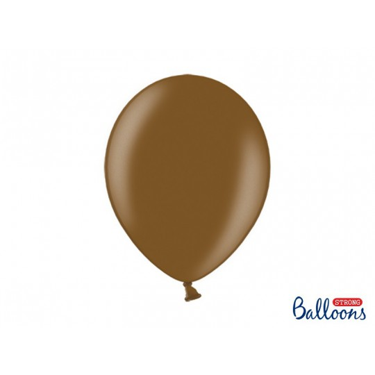Balony 35 cm, Metallic Chocolate Browm