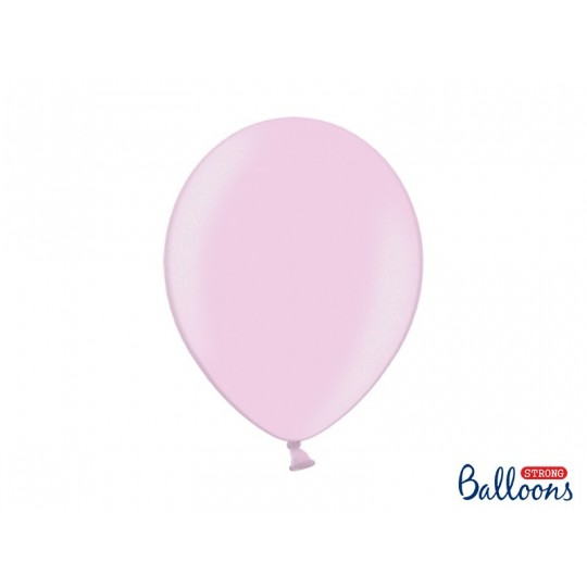 Balony 35 cm, Metallic Candy Pink