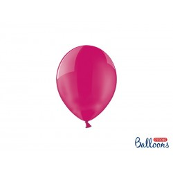 Balony 12 cm, Crystal Hot Pink