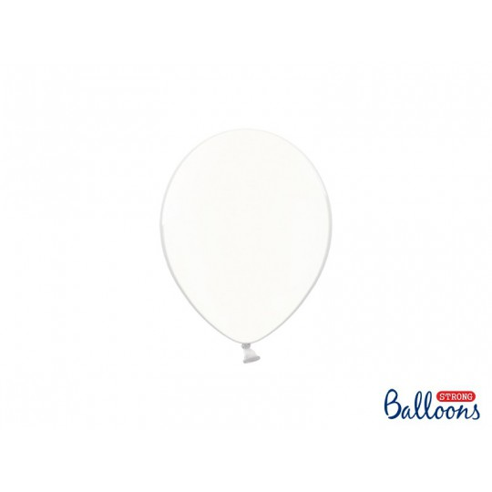 Balony 12 cm, Crystal Clear