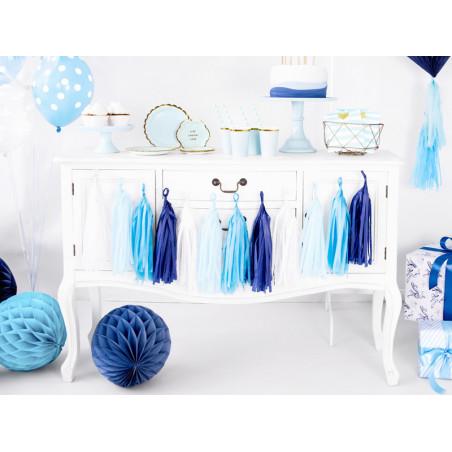 Balony 12 cm, Metallic Lemon Zest