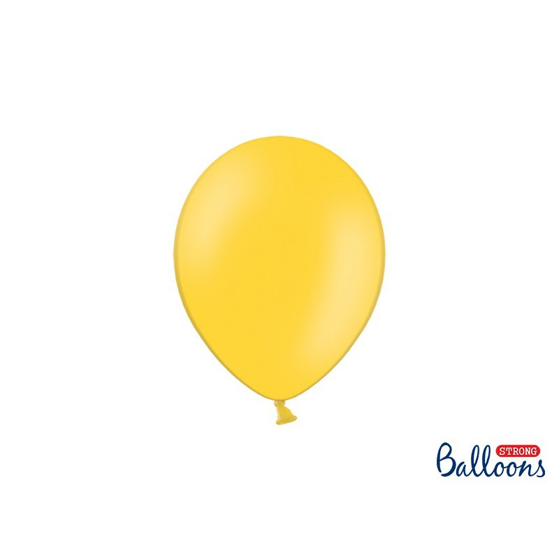 Balony 25 cm, Pastel Honey Yellow