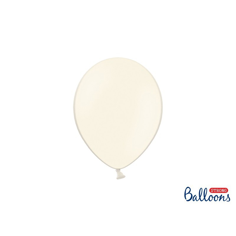 Balony 25 cm, Pastel Light Cream