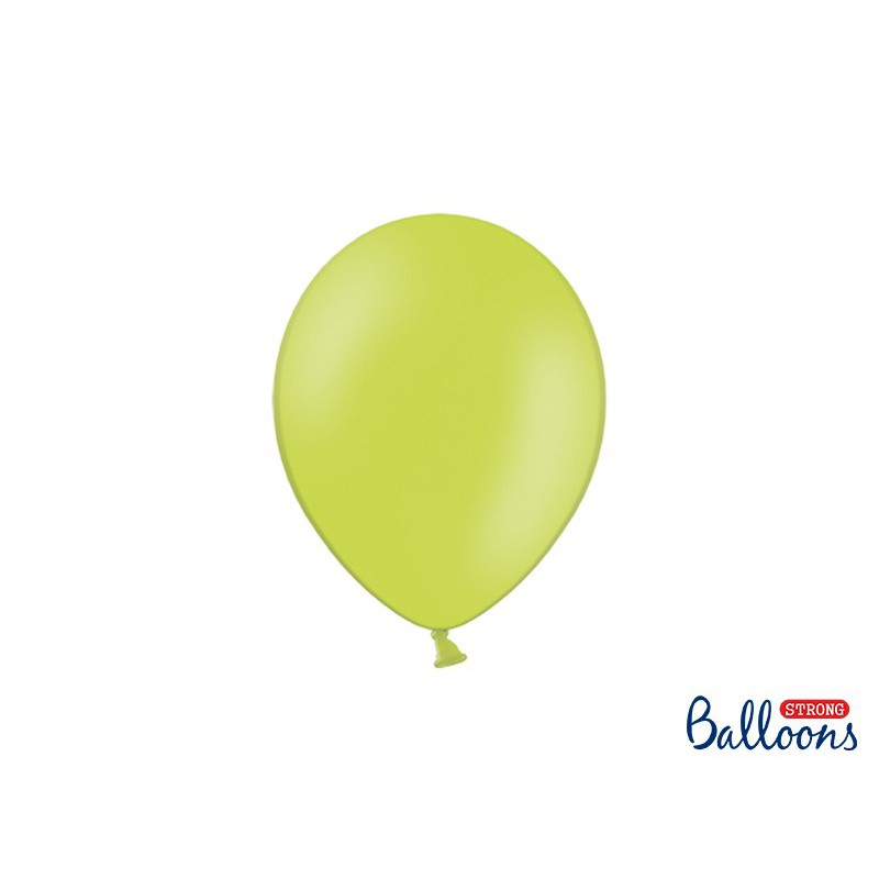 Balony 25 cm, Pastel Lime Green