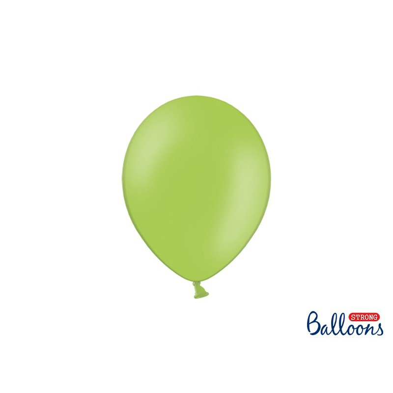 Balony 25 cm, Pastel Bright Green