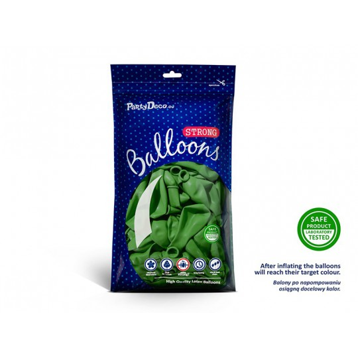Balony 25 cm, Pastel Bright Green