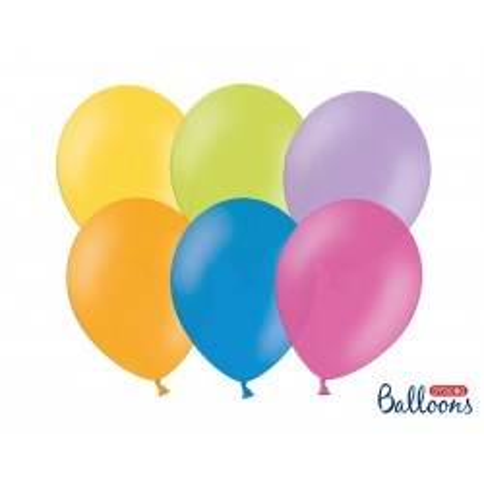 Balony 30 cm, Pastel Mix