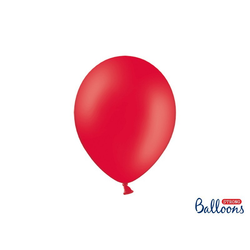 Balony 30 cm, Pastel Poppy Red