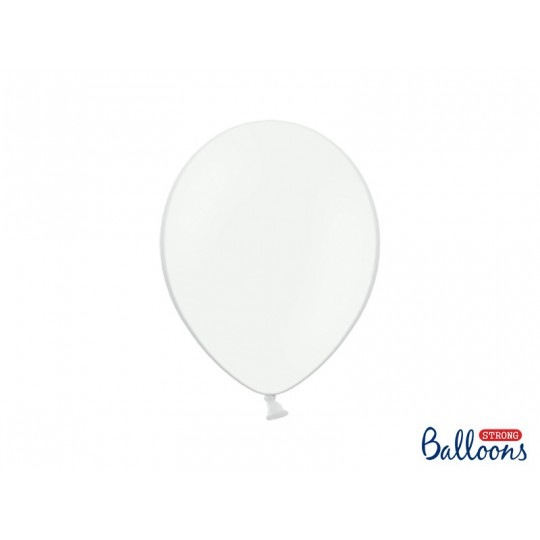 Balony 30 cm, Pastel Pure White