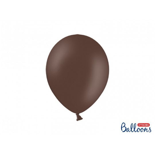 Balony 30 cm, Pastel Cocoa Brown