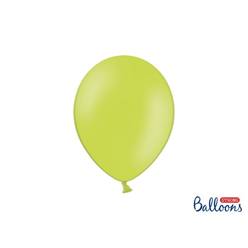 Balony 30 cm, Pastel Lime Green
