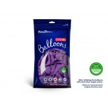 Balony 35 cm, Pastel Lavender Blue