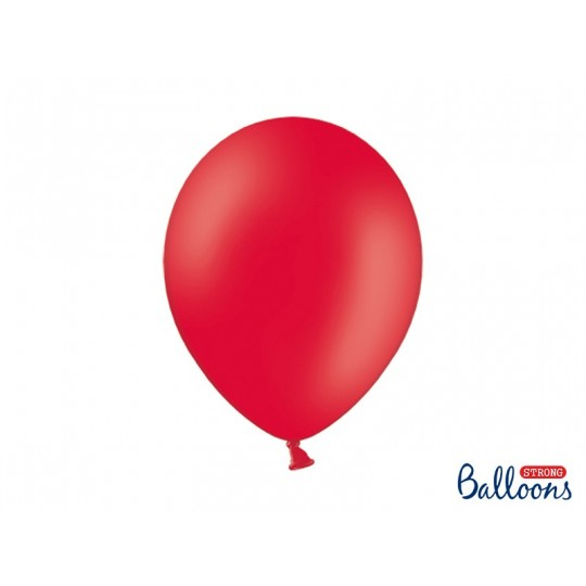 Balony 35 cm, Pastel Poppy Red