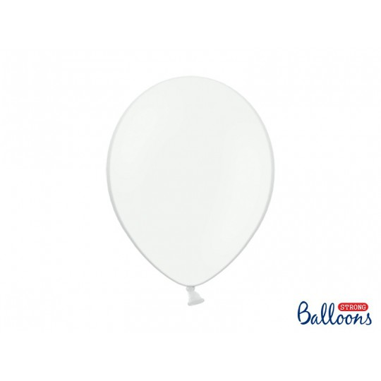 Balony 35 cm, Pastel Pure White
