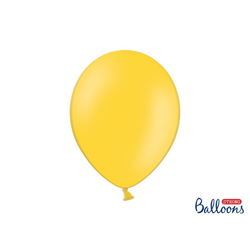 Balony 35 cm, Pastel Honey Yellow