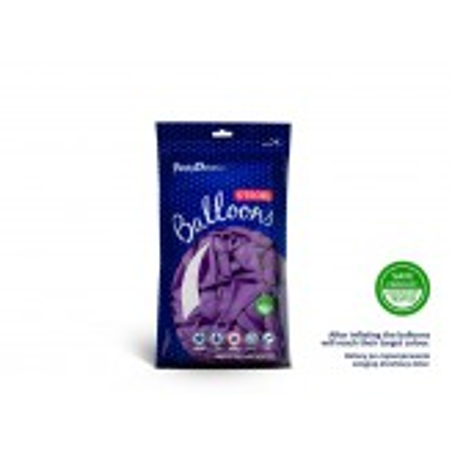 Balony 12 cm, Pastel Lavender Blue