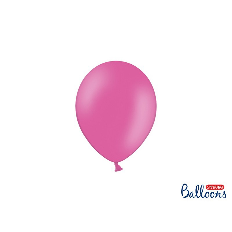 Balony 12 cm, Pastel Hot Pink
