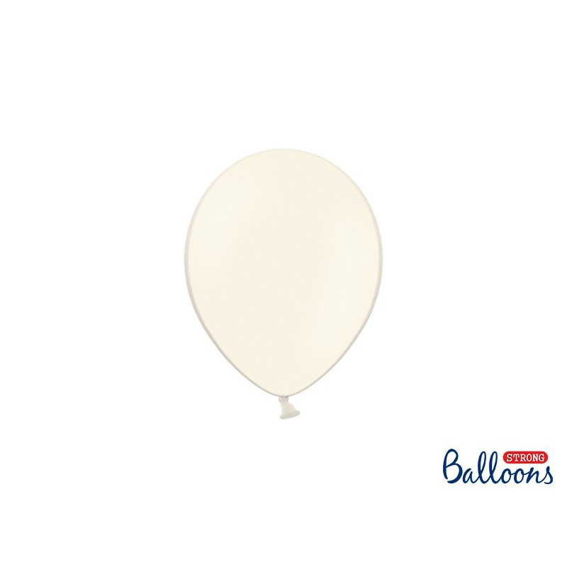 Balony 12 cm, Pastel Light Cream