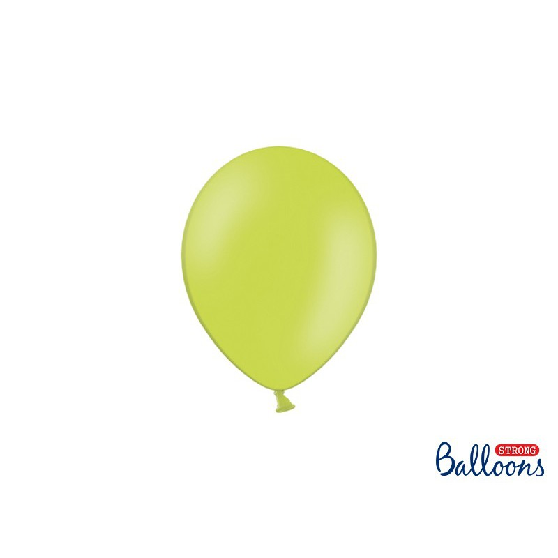 Balony 12 cm, Pastel Lime Green
