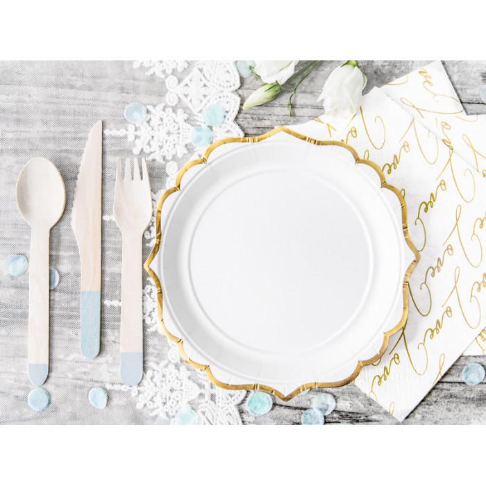 Balony 35 cm, Serduszka, Crystal Clear