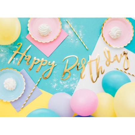 Balony 35 cm, Ocean, Pastel Pure White