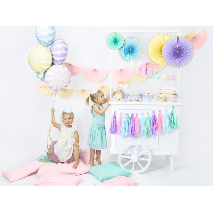 Balony 35 cm, Słonik, Pastel Baby Blue Mix