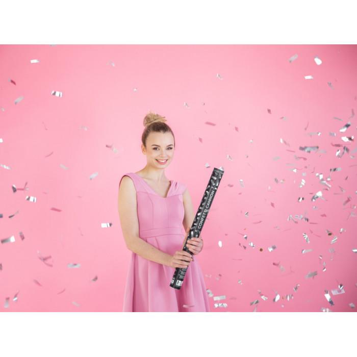 Girlandy perłowe, stalowy błękit, 1,3m