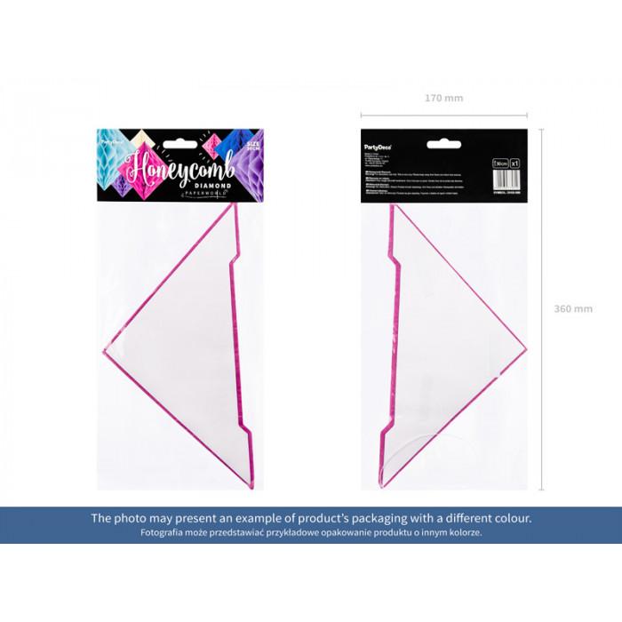 Girlandy tiulowe Pompony, biały, 2m