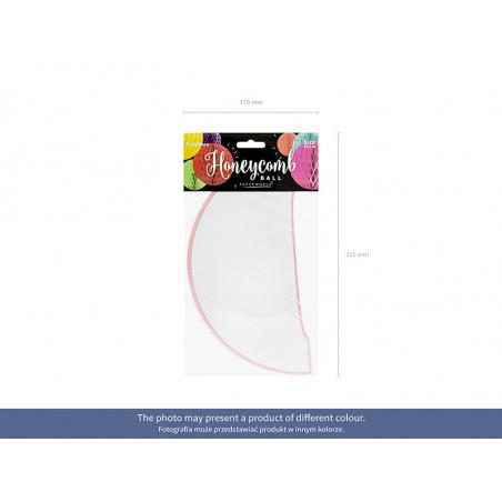 Figurka Dziewczynka w bucie, różowy, 10,5cm