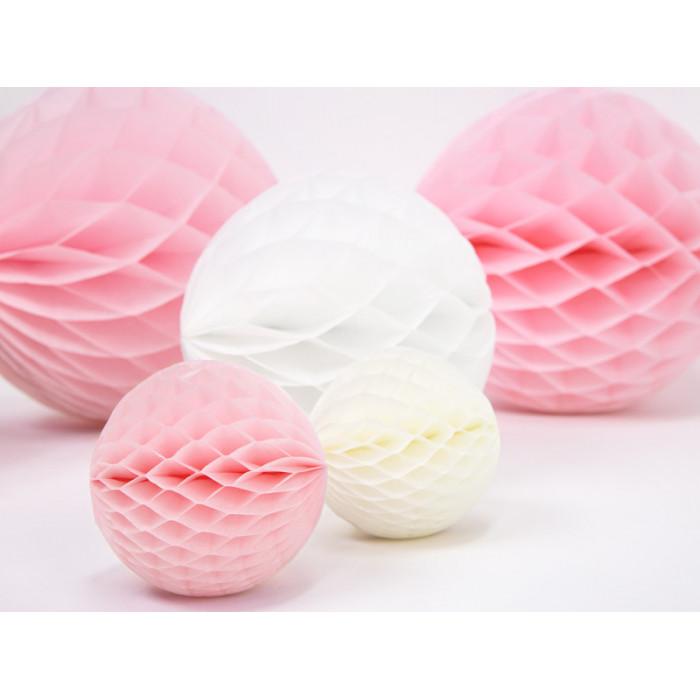Balony 27 cm I Komunia Święta, Pastel White