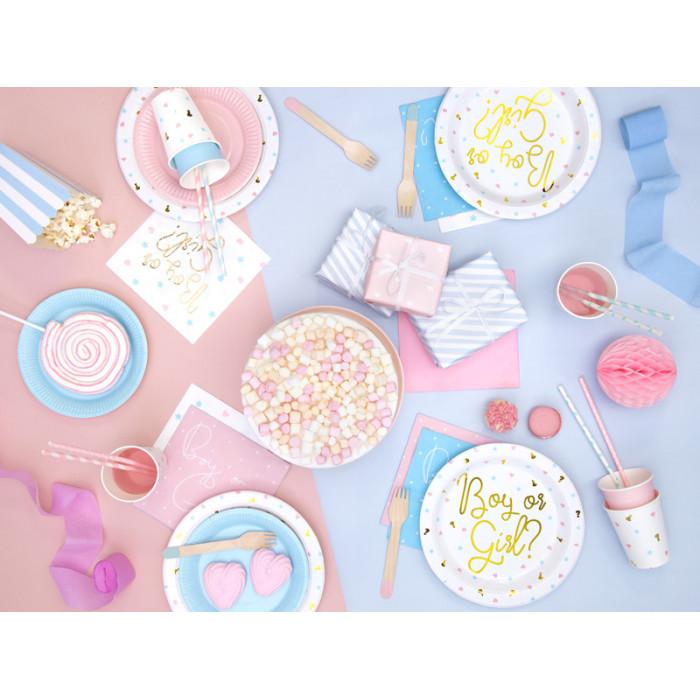 Balony 27 cm, I Komunia Święta, P. White