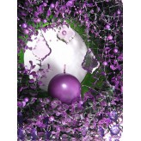 Girlandy perłowe, purpura, 1,3m