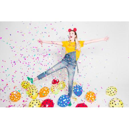 Girlandy perłowe, brudny róż, 1,3m