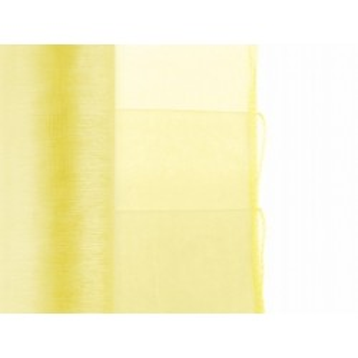 Organza obszywana - żółta - 38cm x 9m