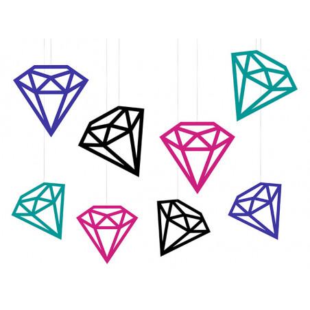Szarfy na krzesło, beżowy, 0,15 x 2,75m